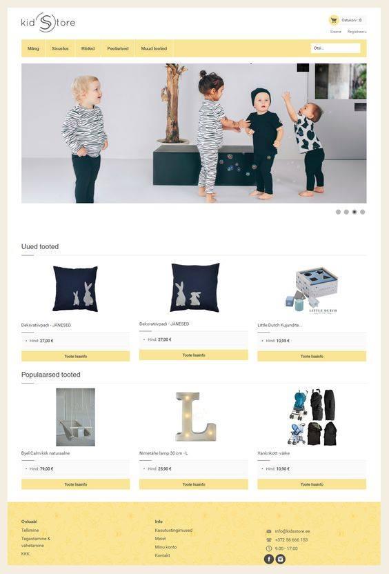 veebilehe kujundamine