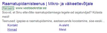 Google AdWords reklaamilaiendid