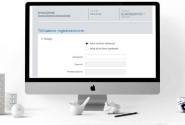 töötamise registreerimine
